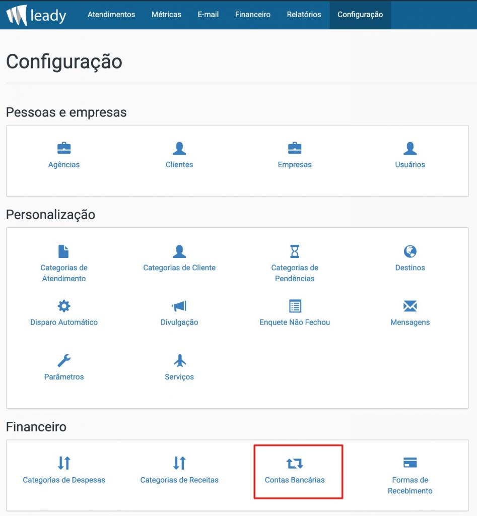sistema-leady-configuração-contas-bancárias