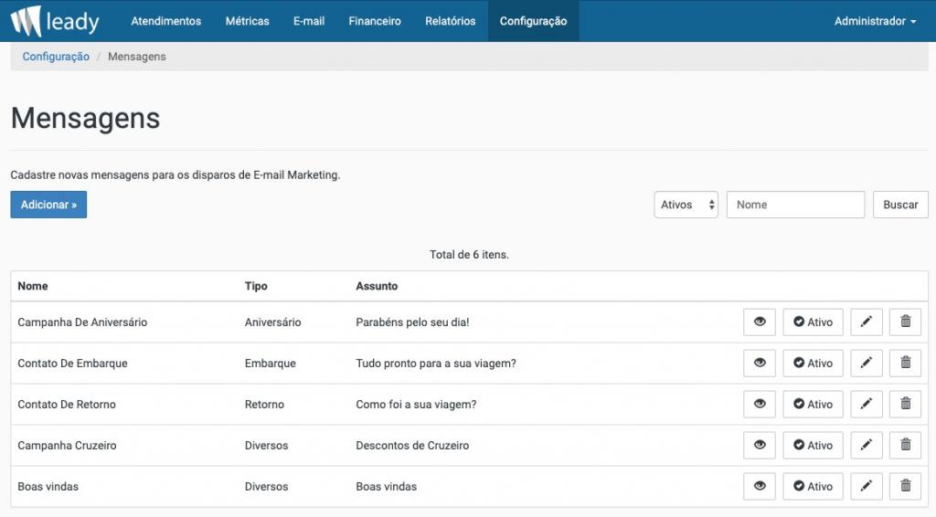 sistema-leady-criar-mensagem-email-marketing