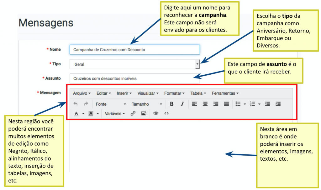 sistema-leady-criação-mensagem-email-marketing